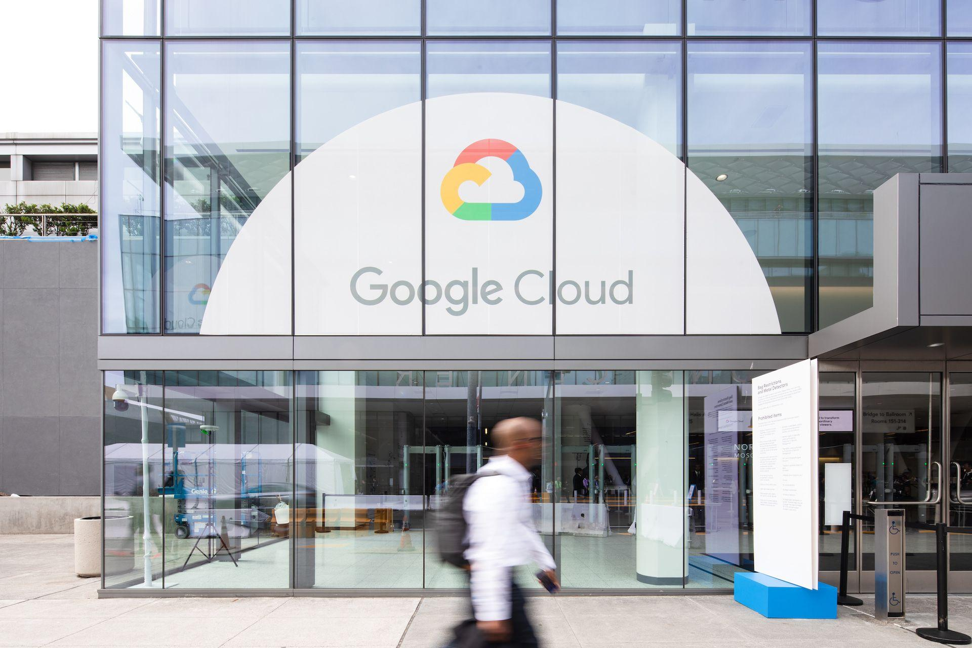 Google Cloud building