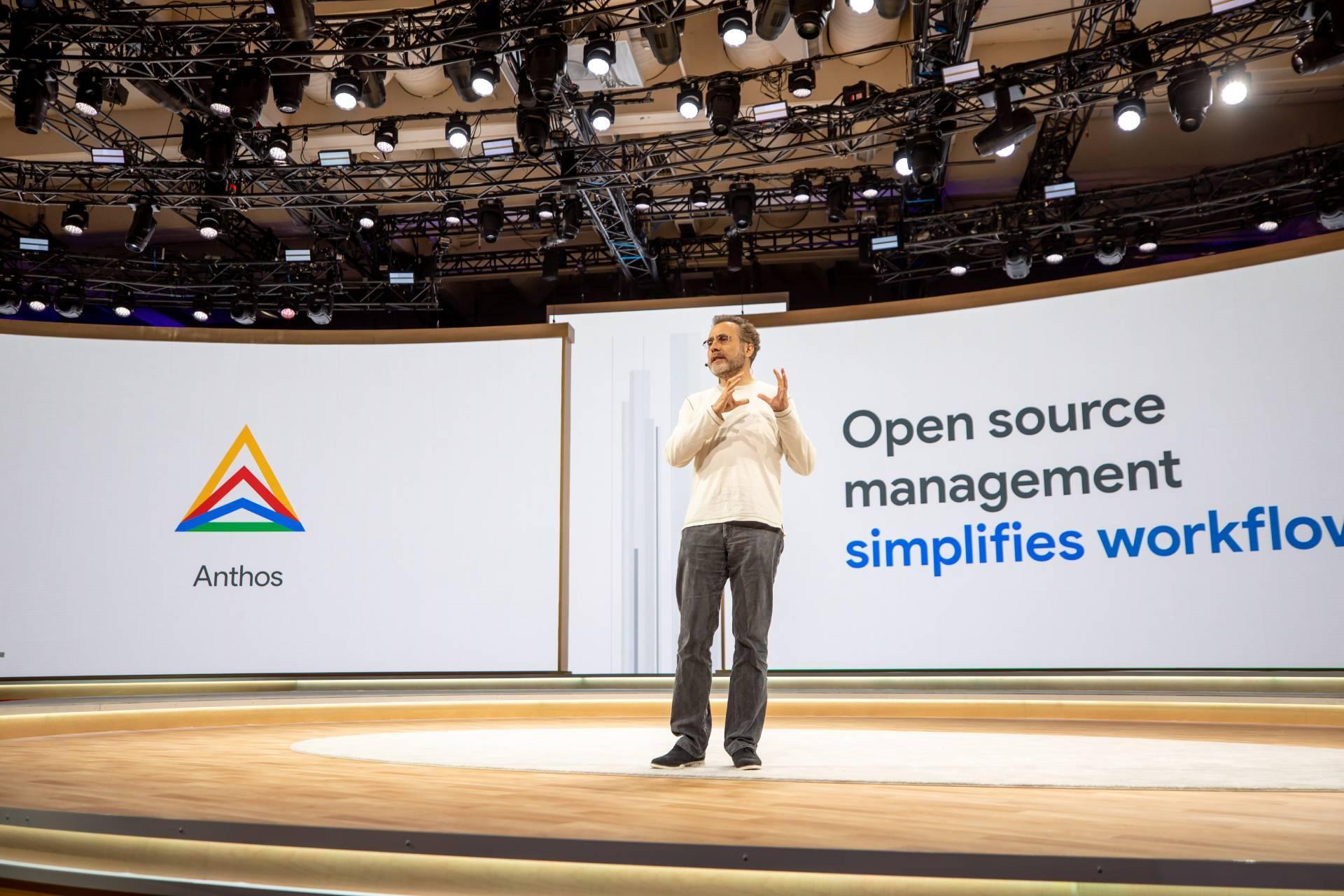 Googlen Anthosista ratkaisu multicloud-ympäristön hallintaan